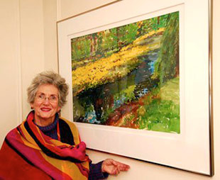 Biography of Canadian Artist and Teacher, Wilma Pinkus