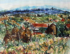 Link to Travels with Phil Gallery of Watercolours