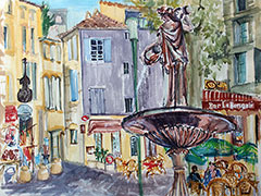 Link to France Gallery of Watercolours