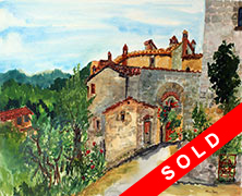 Link to Italy Gallery of Watercolours